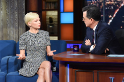 Michelle Williams - The Late Show with Stephen Colbert: April 9th 2019