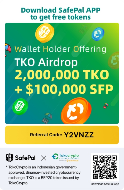 Free airdrop! 2m $TKO + 100k $SFP: Claim yours today