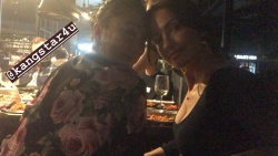 Minka Kelly Having Dinner With a Friend - 11/24/18 Instagram