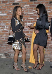 Christina Milian - Outside 'Avenue' Night Club in Hollywood 2/2/18