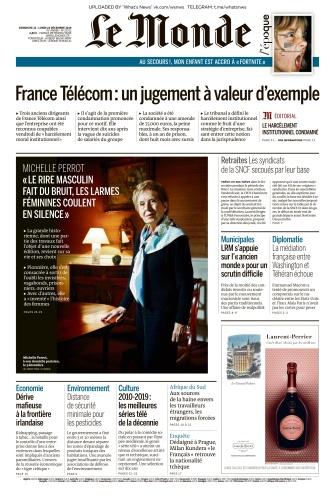 Le Monde - 22 12 2019 - 23 12 (2019)
