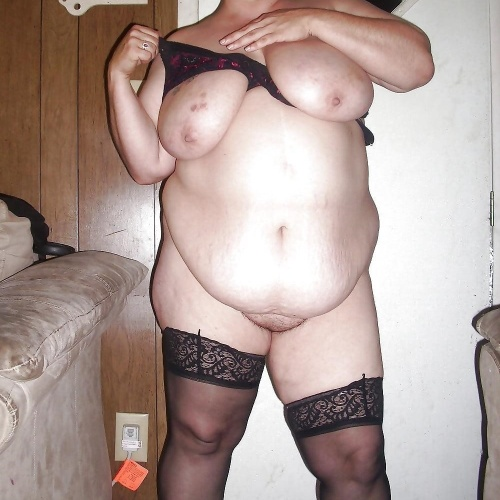 Bbw stocking solo
