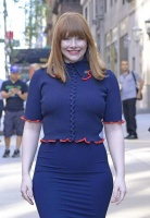 Bryce Dallas Howard - leaving the TODAY Show in NYC 6/14/18
