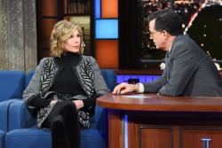 Christine Baranski - The Late Show with Stephen Colbert: March 14th 2019