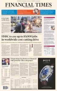 Financial Times Europe - 07 10 (2019)