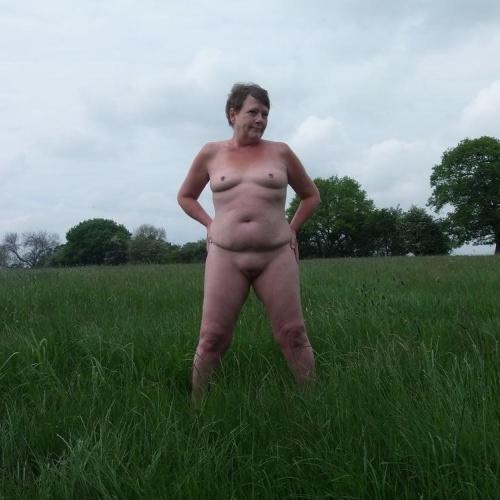 Naked women on the farm