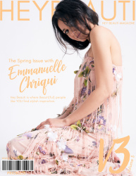 Emmanuelle Chriqui - Hey Beauti magazine Spring 2019