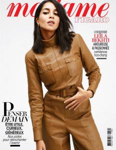 Leila Bekhti -            Madame Figaro Magazine (France) May 1st 2020.