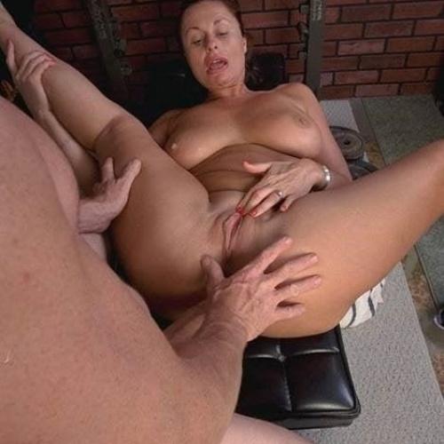 Porn mature gym