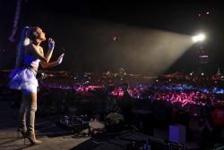 Ariana Grande - Performing at Coachella In Indio - April 20 2018