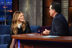 Sarah Jessica Parker - The Late Show with Stephen Colbert: January 10th 2018