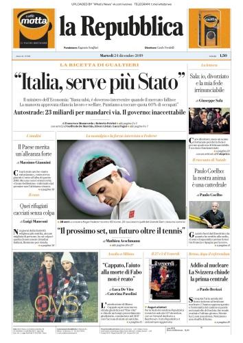 la Repubblica - 24 12 (2019)