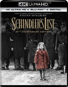 Schindler's List - La lista di Schindler (1993) Full Blu-Ray 4K 2160p UHD HDR 10Bits HEVC ITA DTS 5.1 ENG Atmos/TrueHD 7.1 MULTI