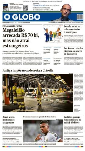 O Globo - 07 11 (2019)