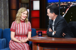 Judy Greer - The Late Show with Stephen Colbert: September 13th 2018