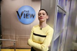 Rose McGowan - The View: January 30th 2018