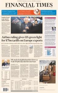 Financial Times Europe - 03 10 (2019)