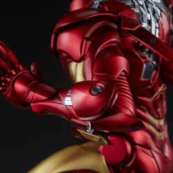 Iron Man Extremis Mark II - Statue (Sideshow) XN4CmIAA_t