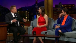 Alexandra Daddario - James Corden 11 SEP 2019