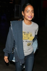 Christina Milian - Out for a Lakers game at the Staples Center in Los Angeles 11/23/18