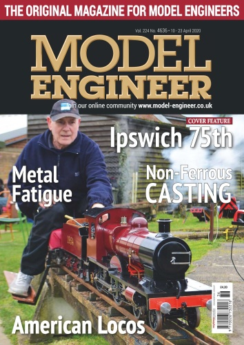 Model Engineer - Issue 4636 - 10 April (2020)