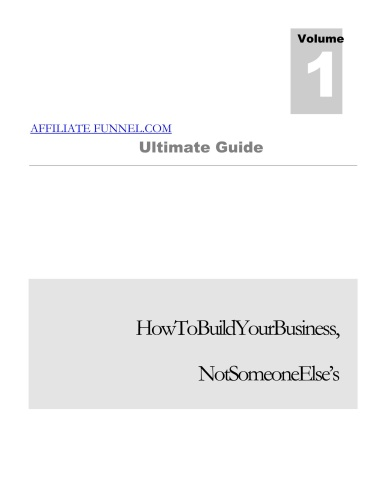 Ultimate Guide To Affiliate Funnel