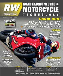 Roadracing World  December (2019)