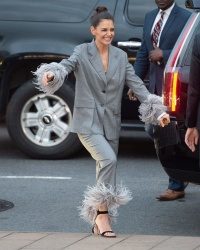 Katie Holmes - Arriving for the America Ballet Theater 2018 Fall Gala 10/17/18