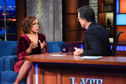 Gayle King - The Late Show with Stephen Colbert: November 21st 2017