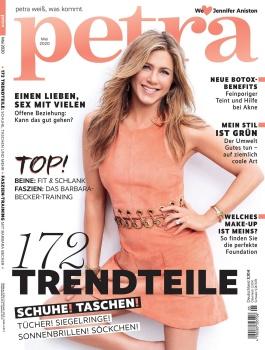 Jennifer Aniston -         Petra Magazine (Germany) May 2020.