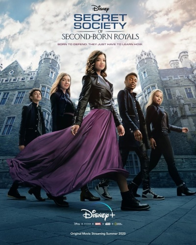 Secret Society of Second-Born Royals 2020 HDRip XviD AC3-EVO