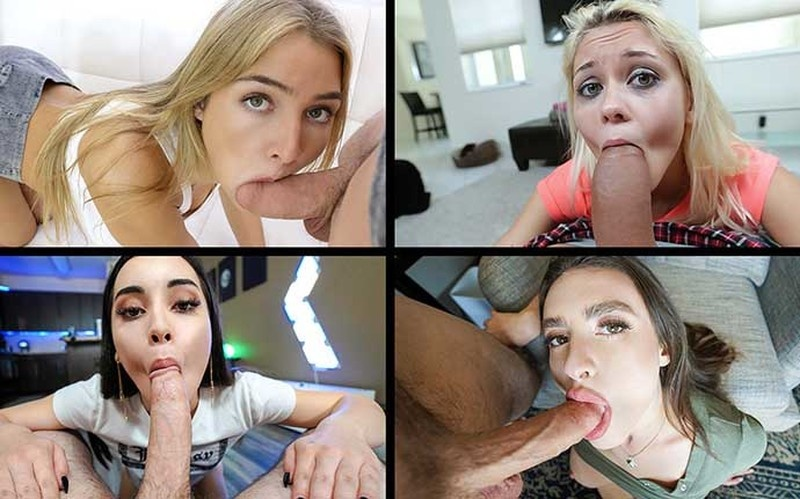 Marsha May, Aria Lee, Allie Nicole, Winter Jade - What Mouths Can Do [HD 720P]