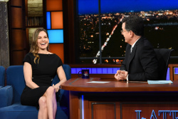 Hilary Swank - The Late Show with Stephen Colbert: March 20th 2018