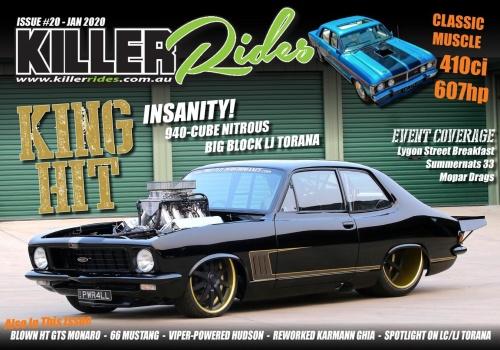 Killer Rides - January (2020)