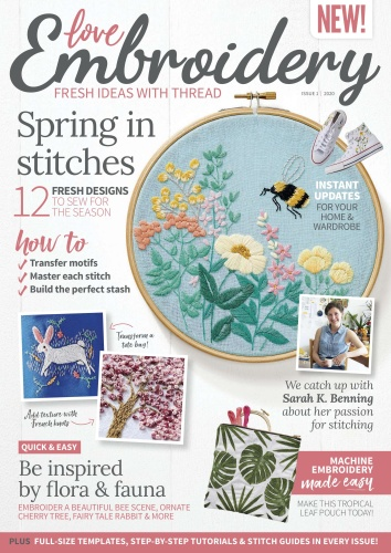Love Embroidery - Issue 1 - March (2020)