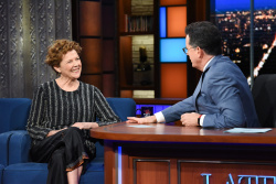 Annette Bening - The Late Show with Stephen Colbert: May 10th 2018
