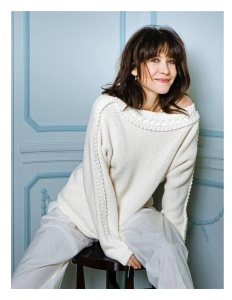 Sophie Marceau -            Madame Figaro Magazine (France) February 2018.