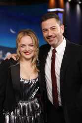 Elisabeth Moss - Jimmy Kimmel Live: August 5th 2019