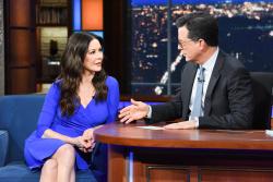 Catherine Zeta-Jones - The Late Show with Stephen Colbert: December 3rd 2018