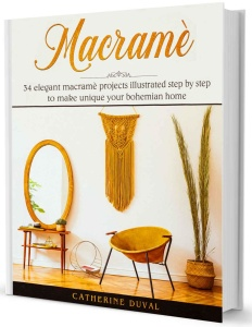 Macrame- 34 Elegant Macrame Projects illustrated step by step to make unique your ...