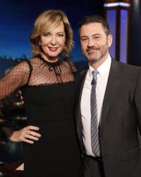 Allison Janney - Jimmy Kimmel Live: January 14th 2020