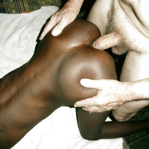 African anal booty