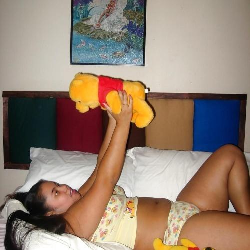 Mini winnie the pooh plush