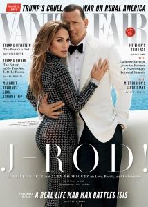 "Jennifer Lopez - ""Vanity Fair"" Photos With A-Rod (11/1/17)"