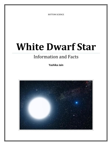 White Dwarf Star - Information and Facts