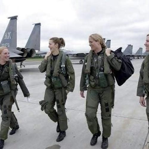 Military women porn pics