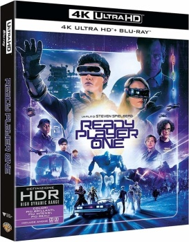 Ready Player One (2018) Full Blu-Ray 4K 2160p UHD HDR 10Bits HEVC ITA DTS-HD MA 5.1 ENG TrueHD 7.1 MULTI