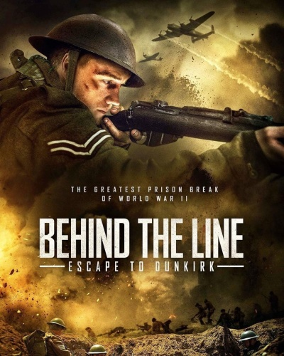 Behind The Line Escape To Dunkirk 2020 HDRip XviD AC3-EVO