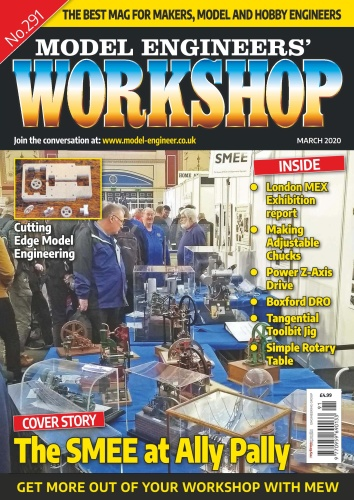 Model Engineers ' Workshop - March (2020)