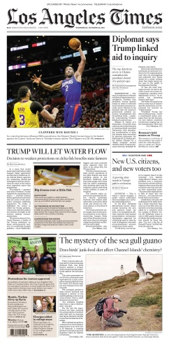 Los Angeles Times - 23 10 (2019)